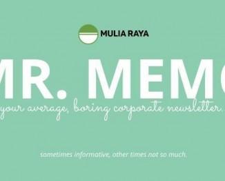 MR MEMO #1